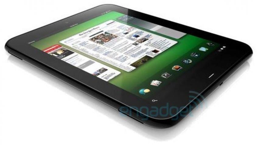 HP представит планшетный компьютер в начале февраля