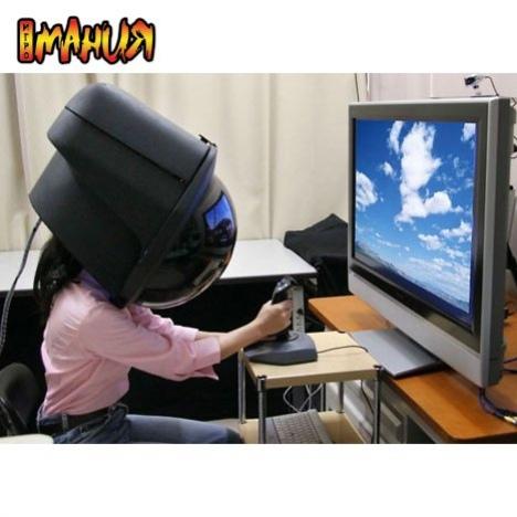 Шлем виртуальной реальности от Toshiba
