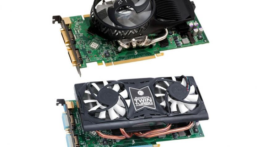 Две модификации GeForce 9800 GT от Inno3D