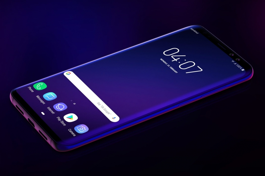 Samsung запатентовала вырезы в экране для аппаратных кнопок