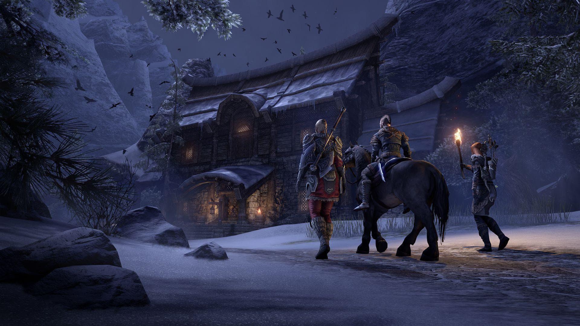 В честь QuakeCon 2020 играть в The Elder Scrolls Online можно бесплатно