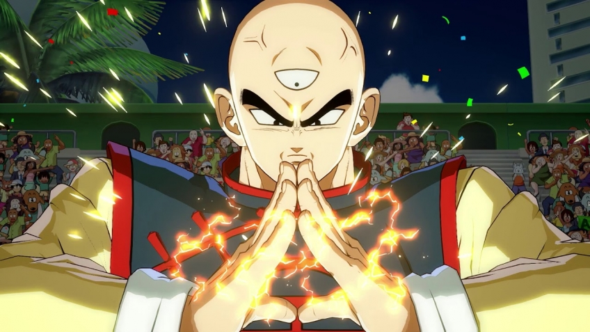 Новый ролик Dragon Ball FighterZ посвятили Теншинхану