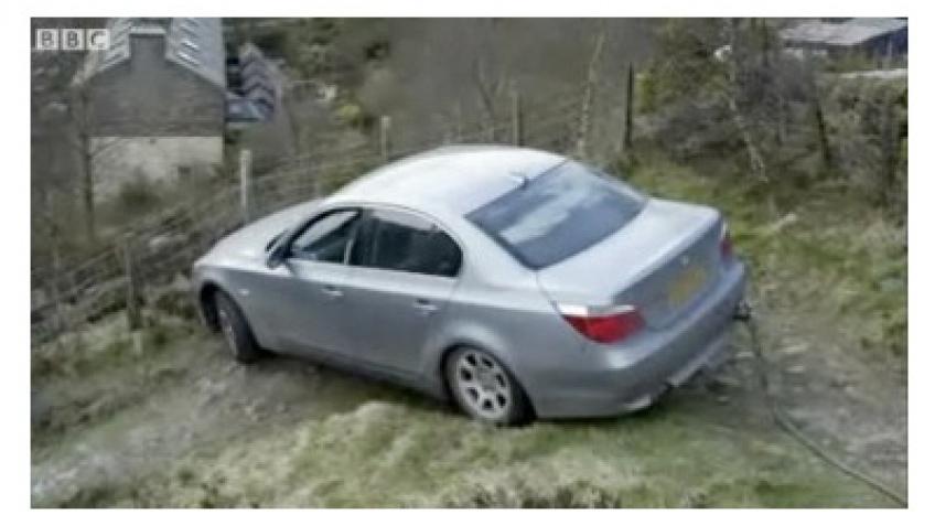 Ошибка GPS привела к аварии в Великобритании
