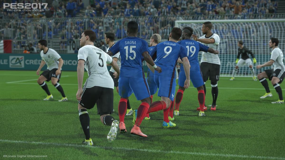 Pro Evolution Soccer 2017 выйдет на две недели раньше FIFA17