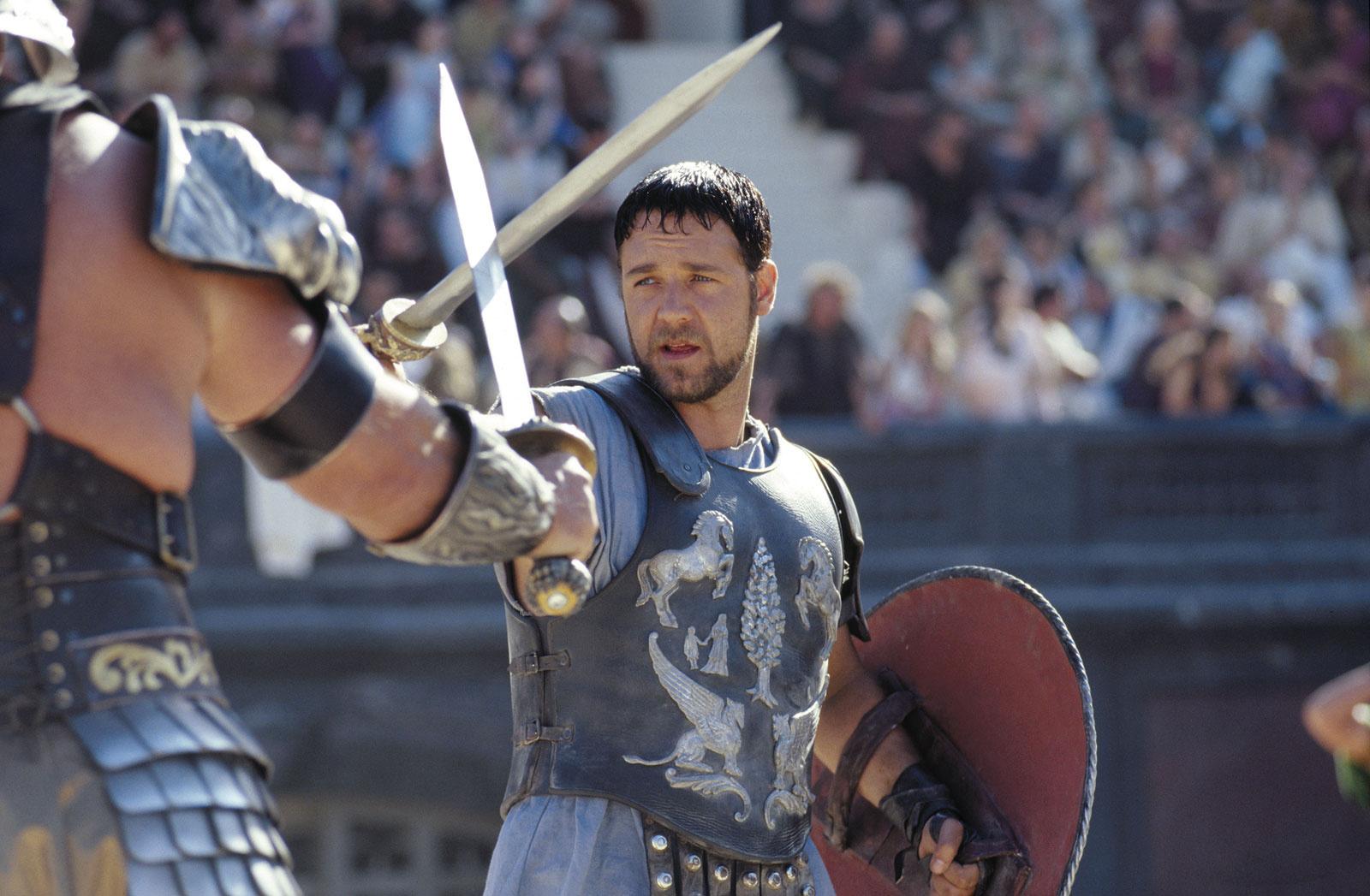 Рассел Кроу о «Гладиаторе»: «Поначалу сценарий был очень плохим»