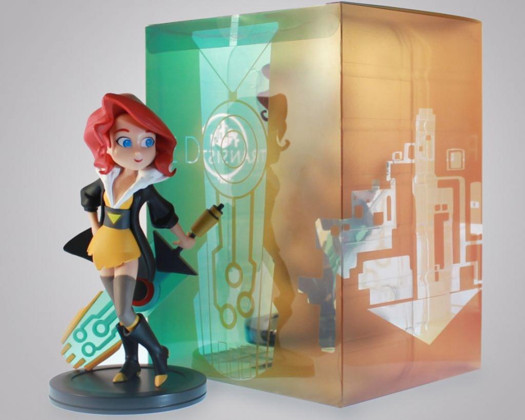 В продаже появилась коллекционная фигурка Ред, героини Transistor
