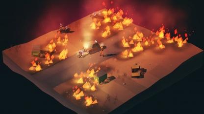 Пошаговый симулятор выживания Overland вышел в Steam