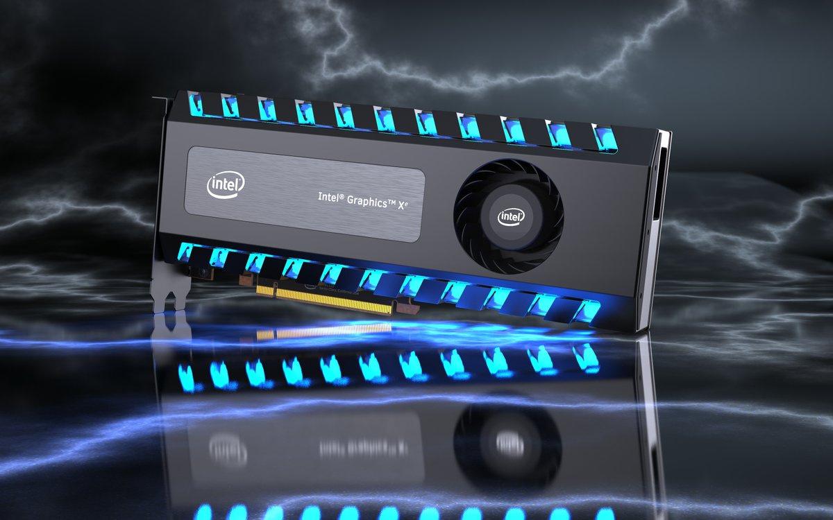 СМИ: в 2021 году выйдут видеокарты Intel с трассировкой лучей