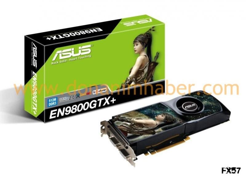 Фотографии GeForce 9800 GTX+ от ASUS