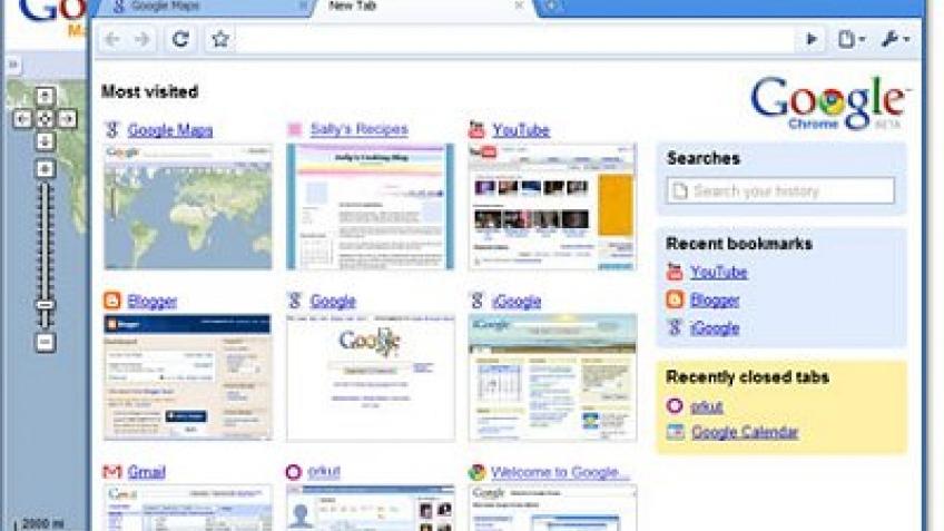 Google готовит сенсорный планшет?