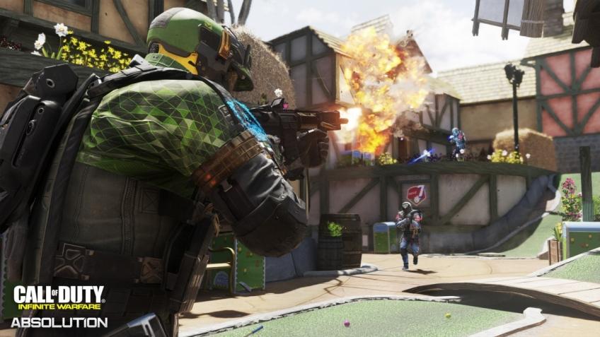 Трейлер дополнения Absolution для Call of Duty: Infinite Warfare посвятили новым картам
