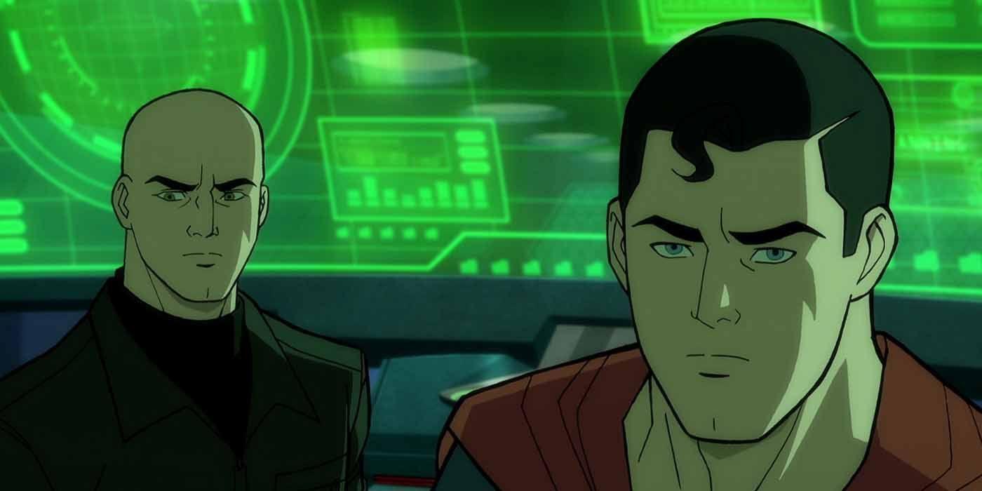 Появился трейлер нового полнометражного мультфильма о Супермене