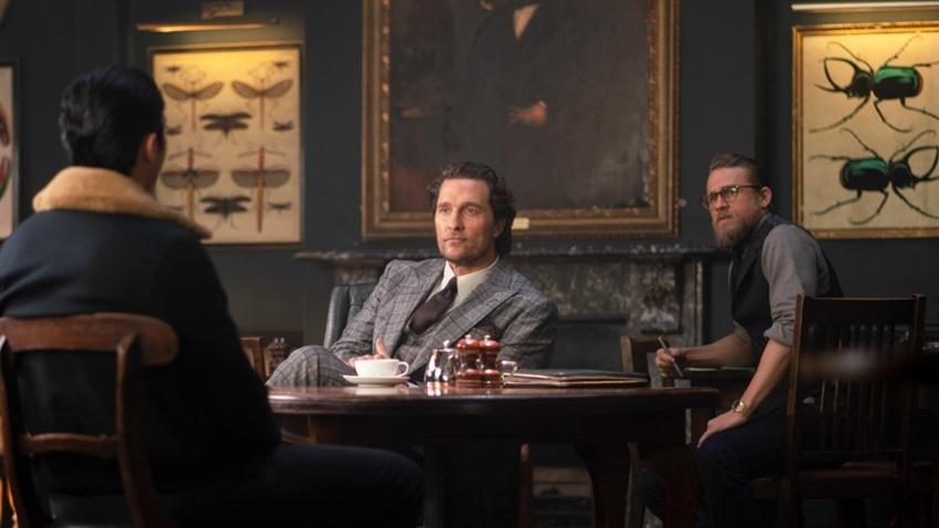 Первые кадры фильма «Джентльмены» Гая Ричи