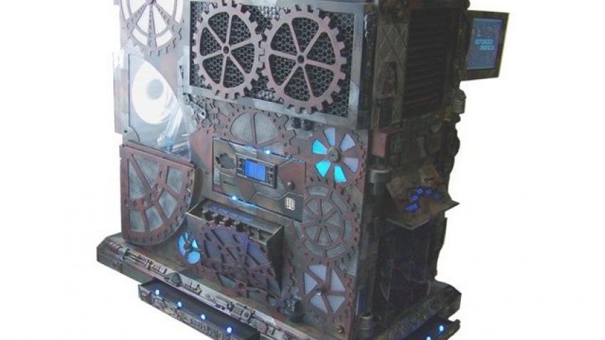Стимпанковый корпус для компьютера