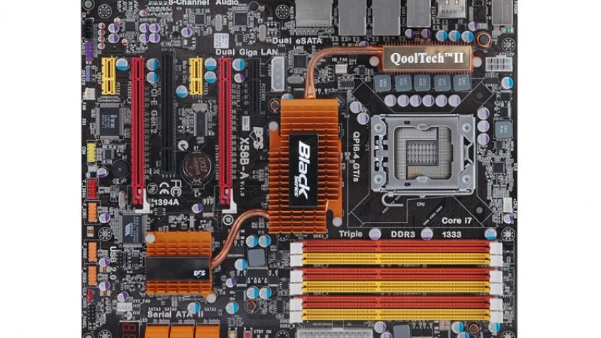 Biostar, ECS представили плату на основе Intel X58