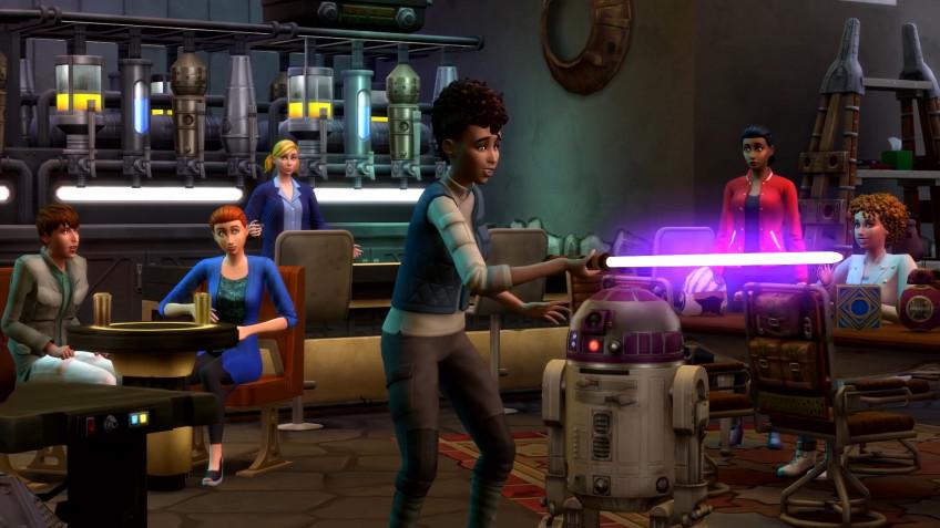 Для Sims4 выйдет дополнение по «Звездным войнам»