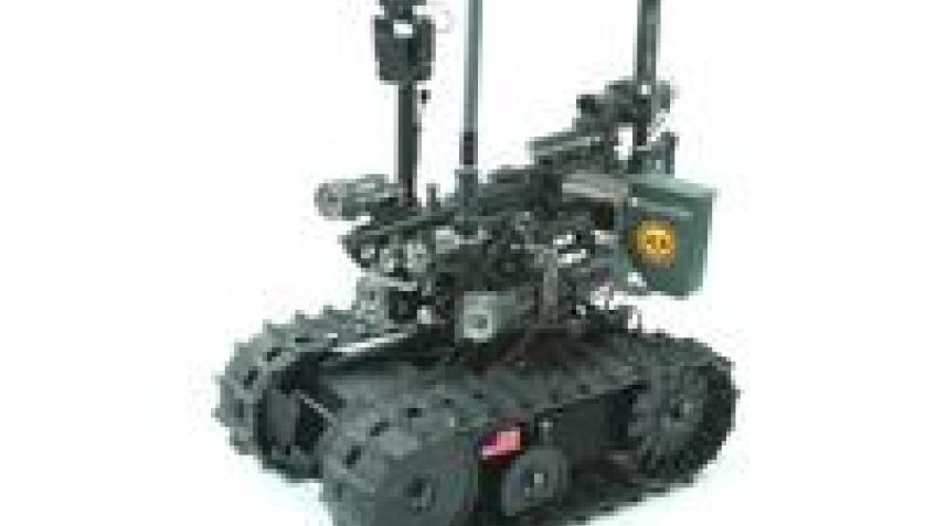 Роботов вывозят из Ирака