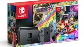 Nintendo выпустит особый комплект Switch с Mario Kart8 Deluxe только в России