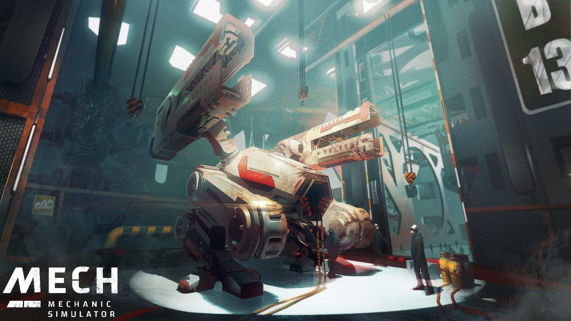 Mech Mechanic Simulator авторов We. The Revolution выходит в октябре