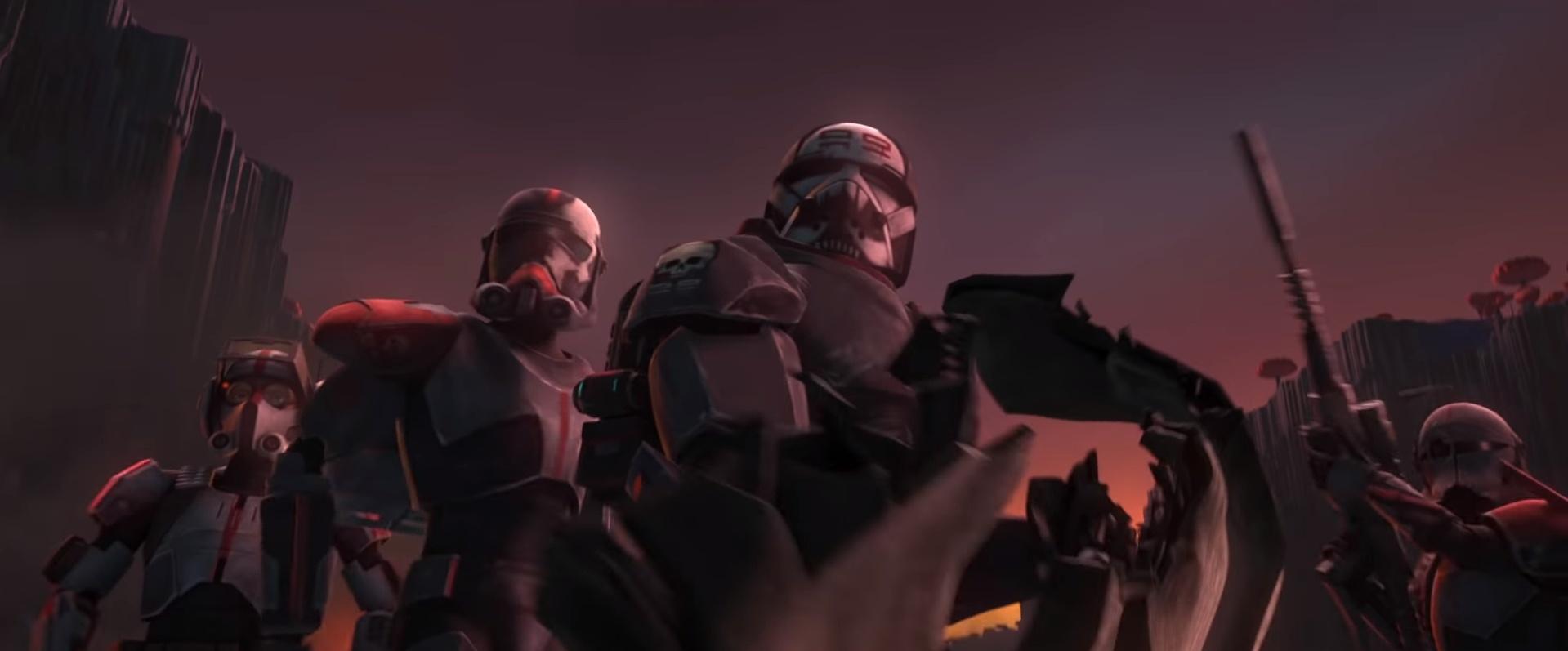Новый трейлер финального сезона «Войн клонов» посвящён99 отряду