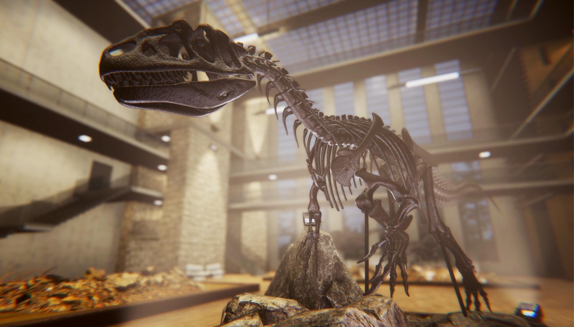 Dinosaur Fossil Hunter: как собрать динозавра