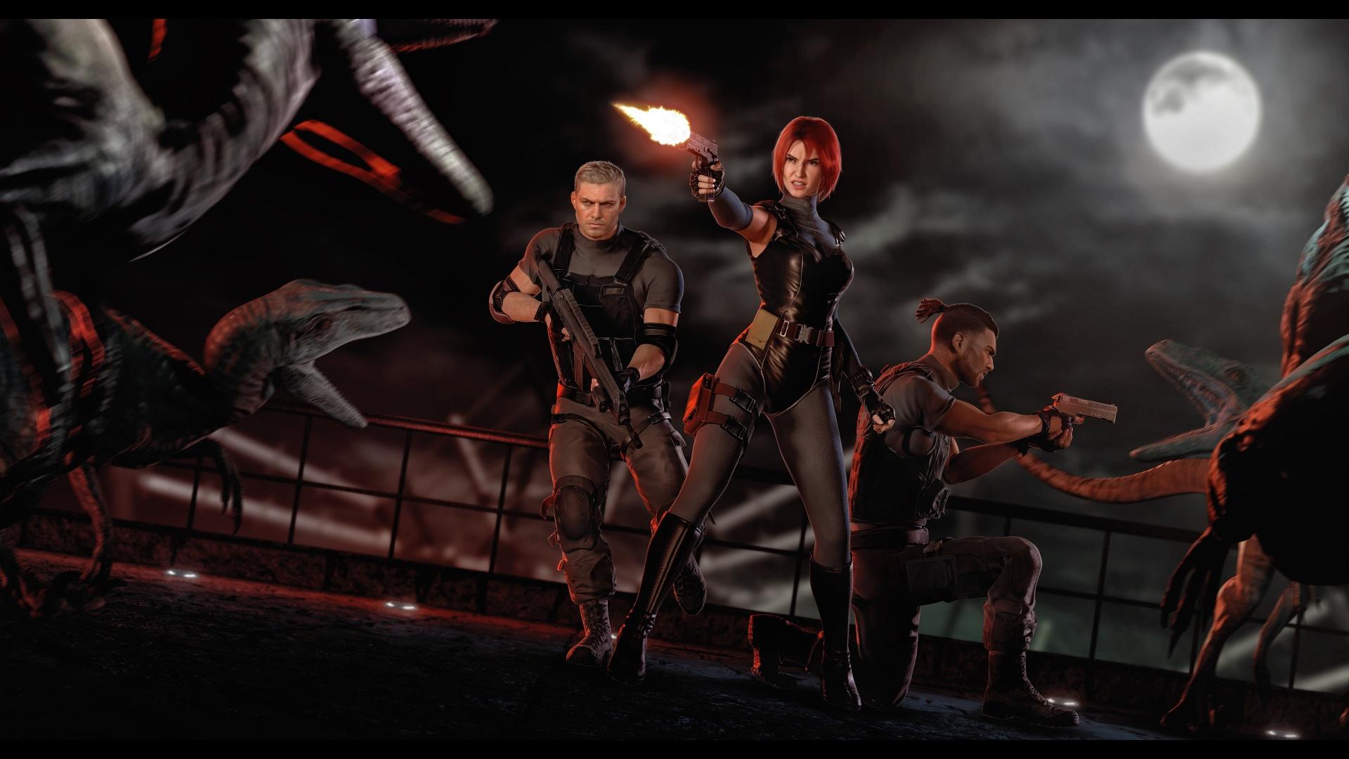 Энтузиасты выпустили переиздание Dino Crisis для PC