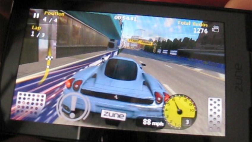 Microsoft выложила шесть игр для Zune HD