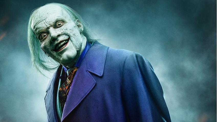 Камерон Монахэн в образе Джокера из сериала «Готэм»