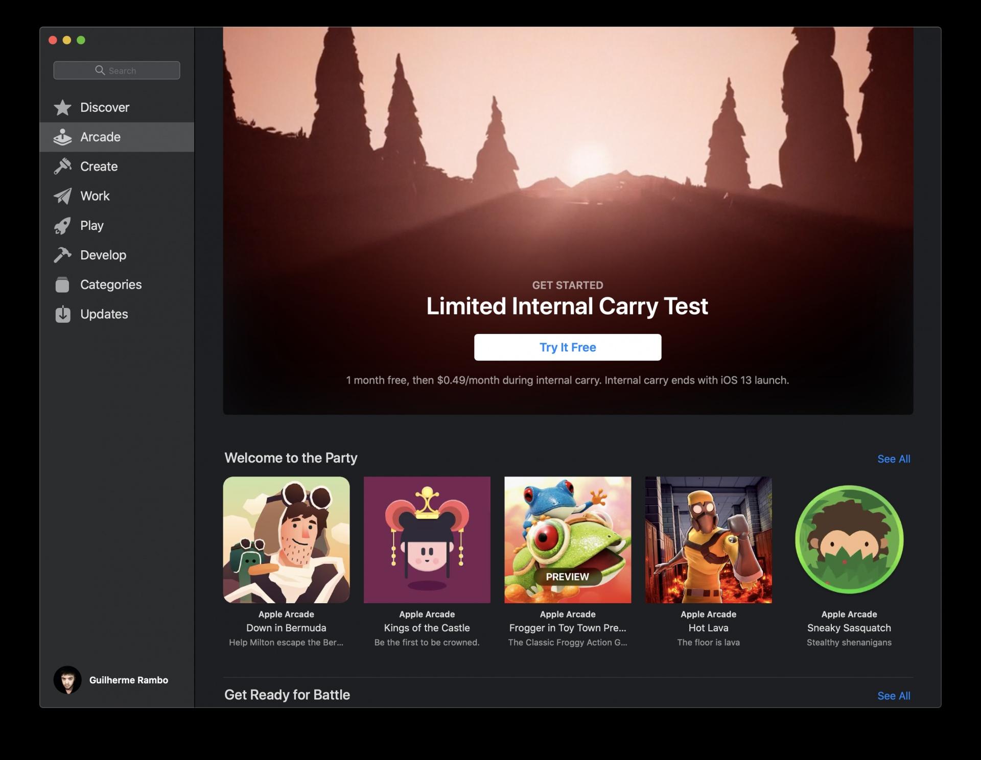 Сервис Apple Arcade уже доступен некоторым сотрудникам компании