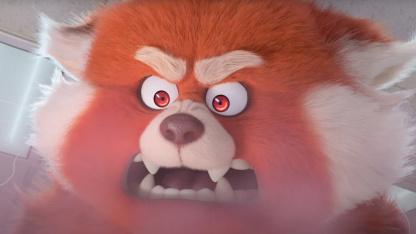 В тизере нового мультфильма Pixar героиня превращается в огромного зверя