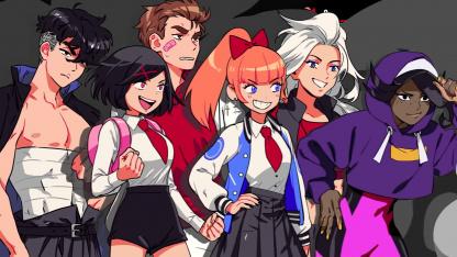Боевые подруги в первом трейлере River City Girls2