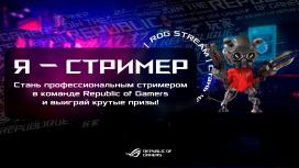 Republic of Gamers проводит творческий конкурс «Я — стример»