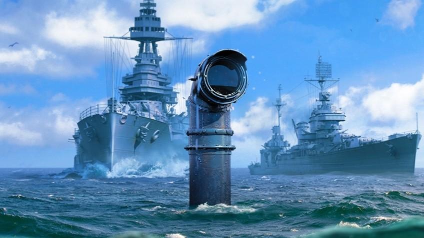 Геймплейные кадры с подводными лодками в World of Warships