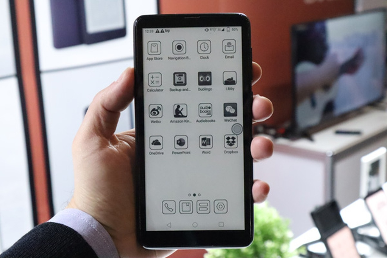 Onyx анонсировала смартфон с быстрым E-Ink экраном