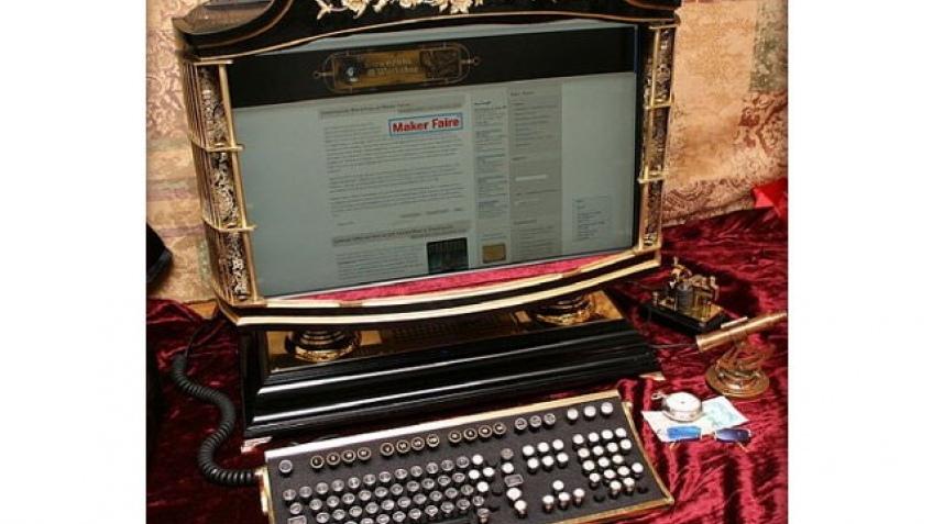 Стимпанковый компьютер