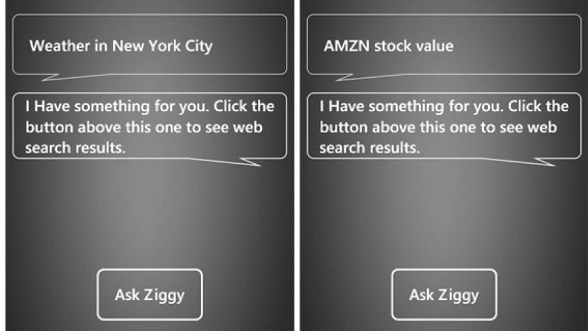 Ask Ziggy, ответ на голосовое управление Apple Siri из лагеря Windows Phone 7