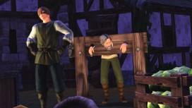 Средневековые будни The Sims