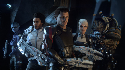 В Mass Effect: Andromeda мог быть совершенно другой первый контакт с новой расой