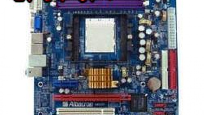 Материнка на чипсете NVIDIA