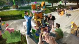 Minecraft Earth скачали почти2,5 миллиона раз