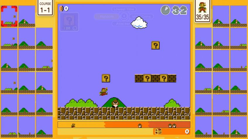 На Nintendo Switch состоялся релиз мультиплеерной Super Mario Bros.35