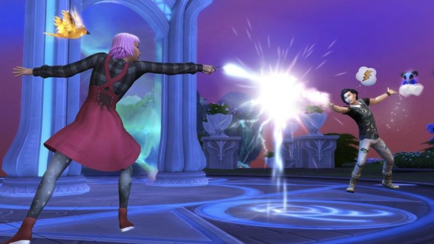 В дополнении «Мир магии» для The Sims4 можно будет устраивать колдовские дуэли