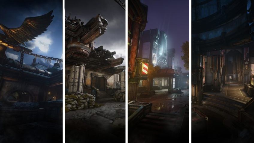 Gears5 получит одиннадцать карт на релизе