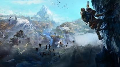 Авторы God of War показали исследование игрового мира
