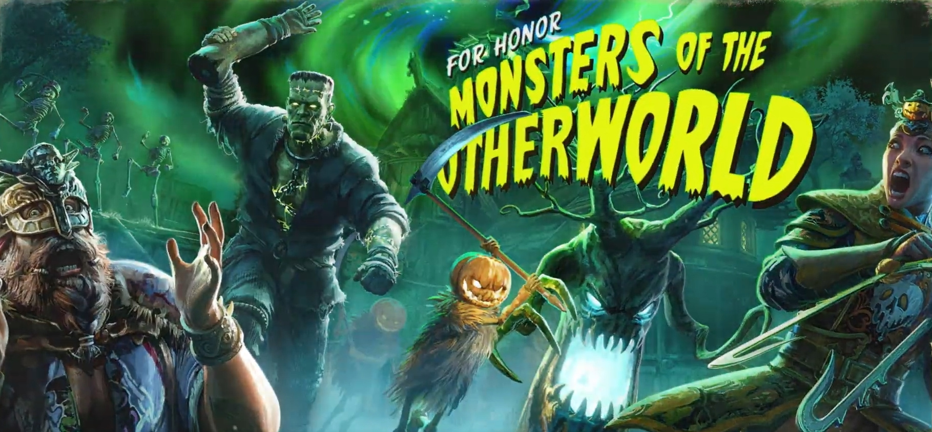 В For Honor стартует событие «Монстры потустороннего мира»
