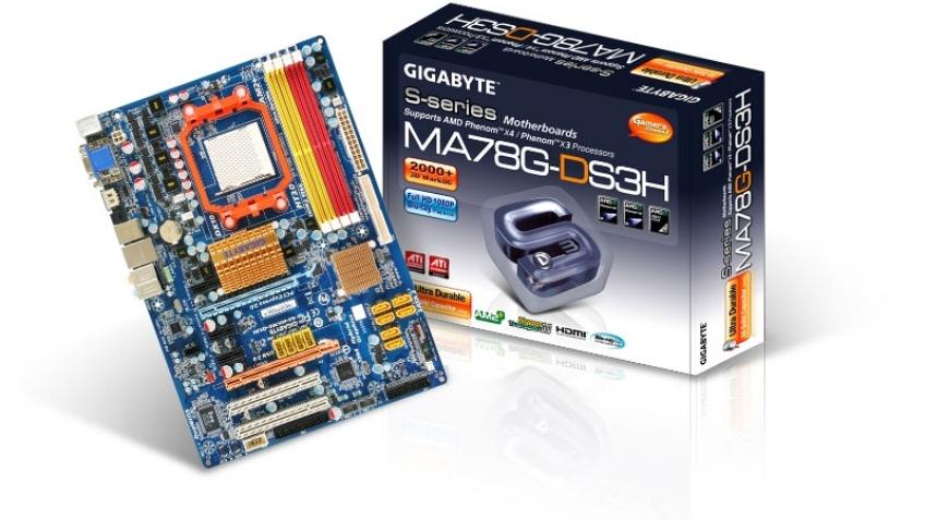 Новая материнка от GIGABYTE на основе AMD 780G