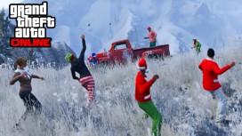 В GTA Online выпал снег