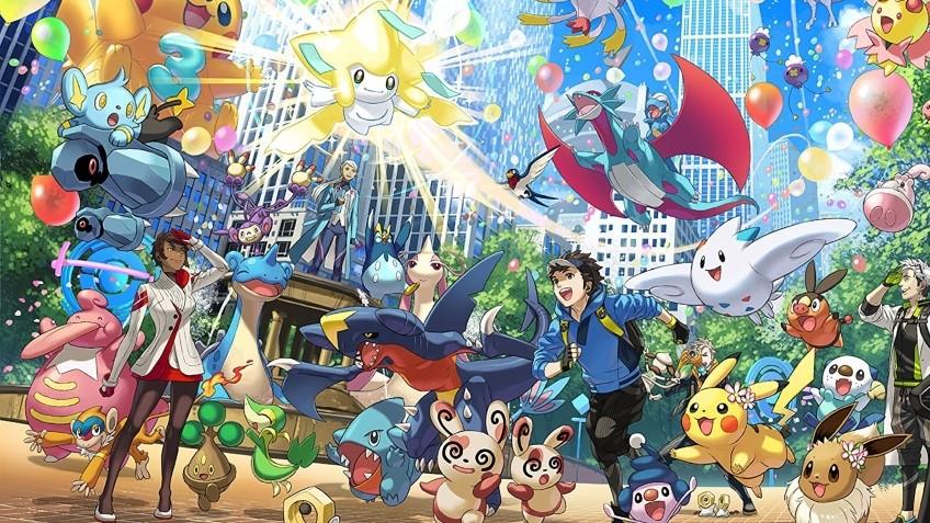 Pokemon GO заработала2,65 млрд долларов за три года