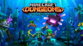 Дополнение Hidden Depths для Minecraft Dungeons выйдет уже26 мая