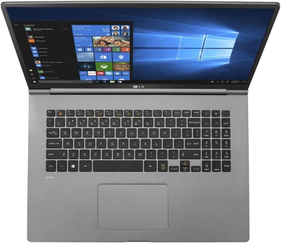 LG Gram17 — самый лёгкий в мире 17-дюймовый ноутбук